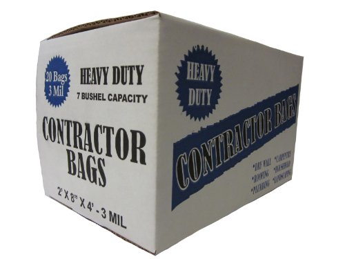 Heavy Duty Contractor 20 Bags/3MIL (32