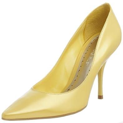 BCBGeneration Women's Nice High Heel Pump,Icy Yellow,5 M US
