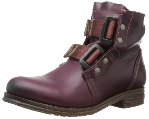 Fly London Womens Ska Biker Boots P142122011 Purple 8 UK, 41 EU