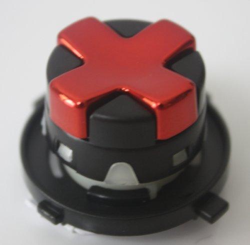 Xbox 360 Controller Chrome Red Transforming D-Pad,Rotating Transform D-Pad