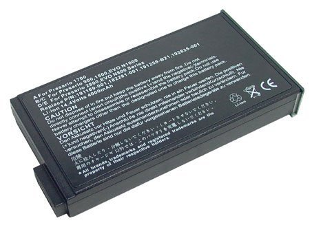 14.40V (Compatible with 14.80V),4400mAh,Li-ion, Replacement Laptop Battery for COMPAQ Evo N1033V, COMPAQ Evo N1000C, N1000V, N1015V, N1020V, N160, N800, N800C, N800V, N800W, COMPAQ Presario 1500, 1700, 1701S, 17XL, 17XL2, 2800, 900 Series, Compatible Part