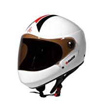 Triple 8 Downhill Racer Helmet (White Gloss, Large/X-Large)