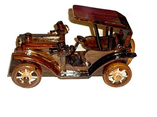 wooden car ornament vintage