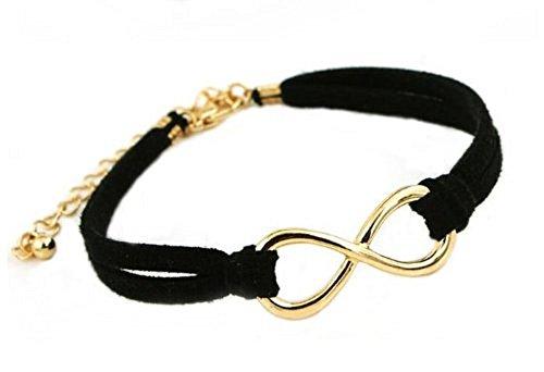 spirituelles-goldenes-infinity-unendlichkeit-armband-armkettchen-aus-schwarzem-leder