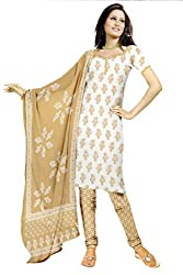 Charu Boutique Cotton Printed Unstitched Dress Material