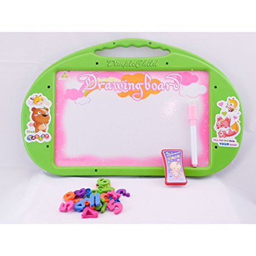 DimpleChild Magnetic Learning Board, Green DC11643