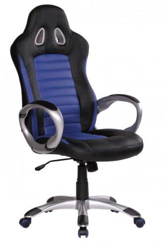 Amstyle Wei/ß Set da 5 rotelle per sedie da Ufficio Bianco