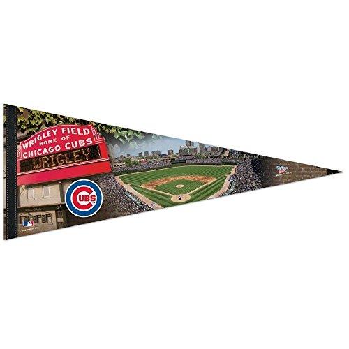wincraft-wrigley-field-chicago-cubs-stadio-squadra-mlb-motivo-bandierine