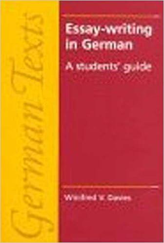 Good German essay phrases flashcards | Quizlet