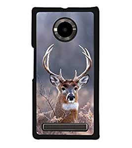 Deer Back Case Cover for YU YUPHORIA