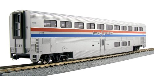 Kato USA Model Train Products Amtrak Phase III Superliner Coach (Amtrak Train Model compare prices)