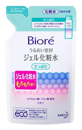 ビオレうるおい密封ジェル化粧水さっぱり替160ml