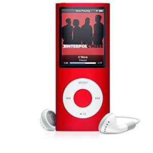 Apple iPod nano 8 GB RED (4th Generation) (PRODUCT) Special Edition