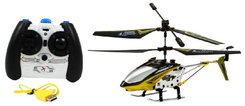 Electric FY807 Alloy Metal Frame Falcon GYRO RTF RC Helicopter Full Function Great Quality Remote Control RC Helicopter