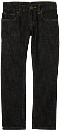 Levi's Boys 8-20 511 Slim Fit Jean , NIGHT RUN, 12 Regular