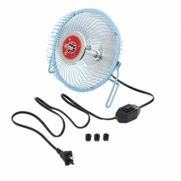 6 Inches Heater Fans Small Electric Heater Fan Desktop Heater /Blue