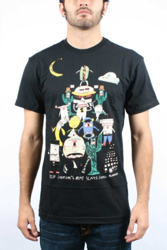 Volcom - Kid Creature Army FA S/S Tee Men S/S Basic T-Shirt, Size: XX-Large, Color: Black