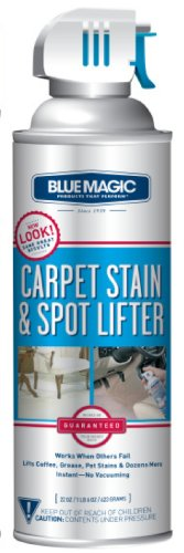 BlueMagic 900 Carpet Stain & Spot Lifter - 22 oz. Aerosol Can