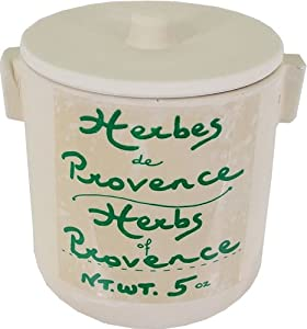 Large 5 Oz Jar Anysetiers du Roy Herbes de Provence in Pottery Crock