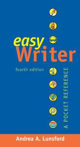 EasyWriter with 2009 MLA and 2010 APA Updates: A Pocket Reference