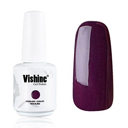 Vishine-Gelpolish-Professional-UV-LED-Soak-Off-Varnish-Color-Gel-Nail-Polish-Manicure-Salon-Plum1417