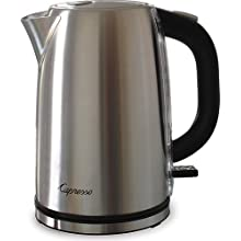 Capresso Water Kettle H2O Pro, Stainless Steel