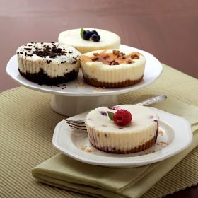 Omaha Steaks 4 Assorted Individual Cheesecakes