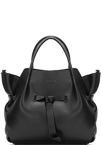 Shopping bag Cromia Linea Fiore Cod. 1403042 NERO
