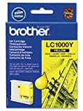 Brand New. Brother Inkjet Cartridge Page Life 400pp Yellow Ref LC1000Y