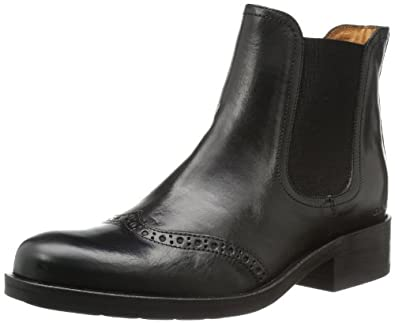GANT Selma black leather 45.1010.01.A00, Damen Stiefel, Schwarz (black), EU 41