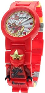 LEGO 9006807 Ninjago Kai ZX Kids' Minifigure Link Watch