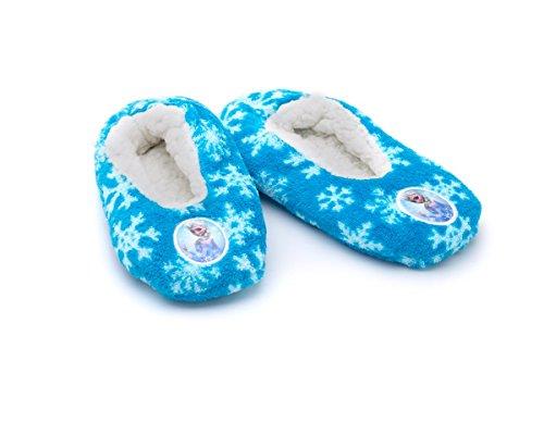 Girls Disney Frozen Character Slippers