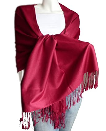 New Best Soft Pashmina/Shawl/Scarf/Wrap/Stole (burgundy)