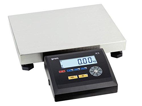 Balance plate-forme PRO pèse-colis industrie boulangers etc 400 x 300 mm - capacité : 150kg lecture à 20g