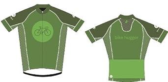 Bike Hugger Velocity Jersey (Mens Small)