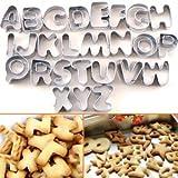 Molde de Acero Inoxidable de Forma Alfab�tica Cifra para hacer pastel/galleta
