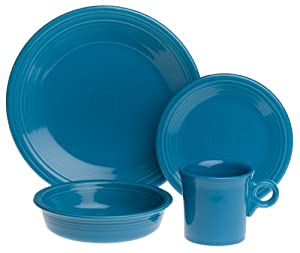 Fiesta Peacock 4-Piece Place Setting, Service for 1