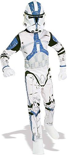 Star Wars Clone Trooper Kostüm für Herren, Größe:M/L