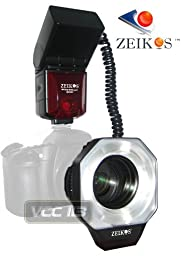 Zeikos ZE-MRN1 Digital TTL Macro Ringlight Flash for Nikon