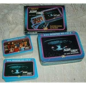 Star Trek playing cards TNG set
