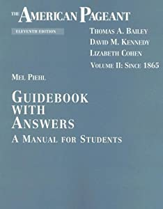 American Pageant 13th Edition Guidebook AnswersAmerican ...