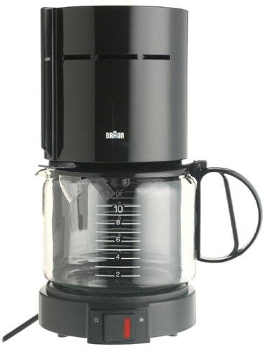 Braun 12 Cup Coffee Maker Online Riviews: Braun KF400-BLK Aromaster 10-Cup Coffeemaker, Black