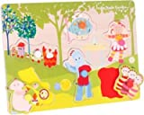 Wonderful In The Night Garden Pick and Place Wooden Puzzle --
