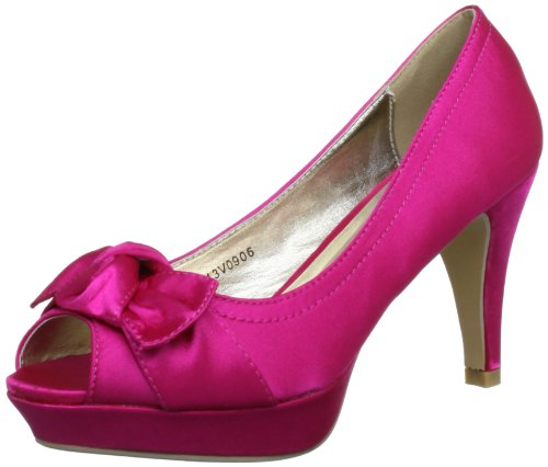 Victoria Delef Women's Fuscia Open Toe 13V0906 3 UK