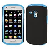Rocina Case / Protective Cover for Samsung i8190 Galaxy S3 Mini Black / Blue
