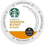 Starbucks Veranda Blend Blonde, K-Cup for Keurig Brewers, 54 Count