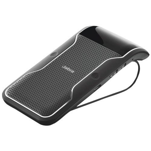 Jabra Journey Bluetooth In-Car Speakerphone - Retail Packaging - Black