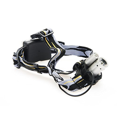 Sh-6652 Super Bright Led Torch Headlamp Headlight For Camping Fishing Running