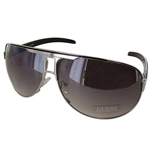 guess-men-gu6591-aviator-fashion-sunglasses-silver-grey