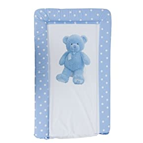 Baby Teddy Bear Deluxe Padded Easy Clean Changing Mat (Boy & Girl Options)